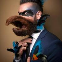 Super surreal beard Art by photographer Greg Anderson