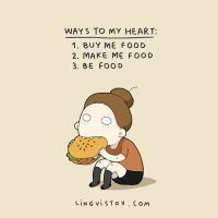Things people who love food too well will understand.