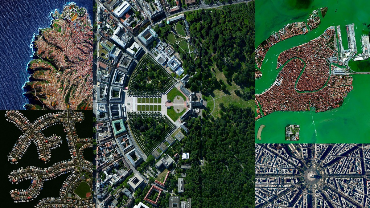 Around the world with cities Geometries ; can you spot your city ?