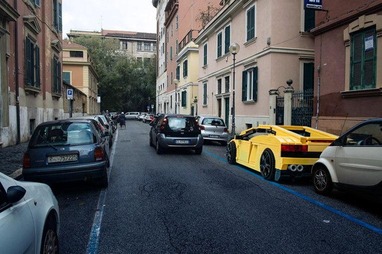 parked-vehicles-lego-outside-legoland-domenico-franco-rome-3