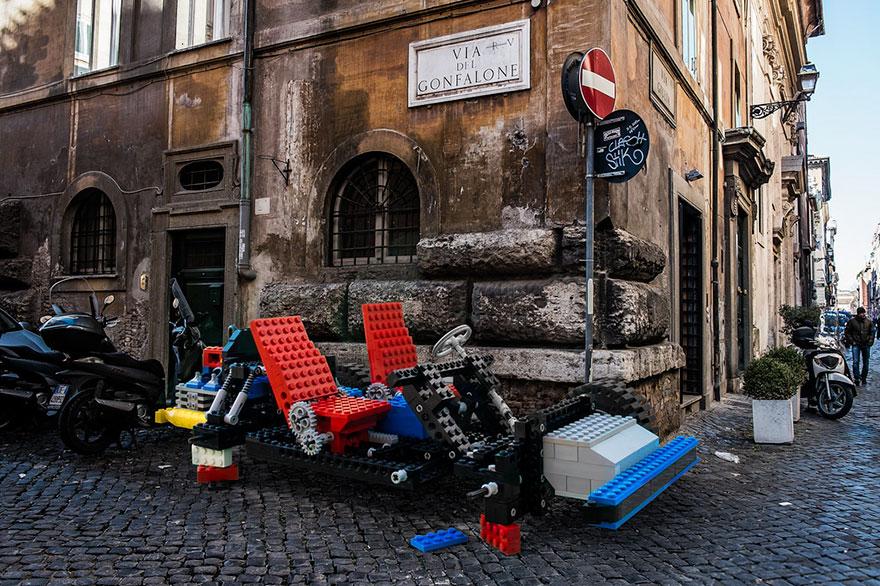 parked-vehicles-lego-outside-legoland-domenico-franco-rome-6