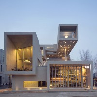 IDMM architects builds cubical structure in Down-town Seoul, South Korea