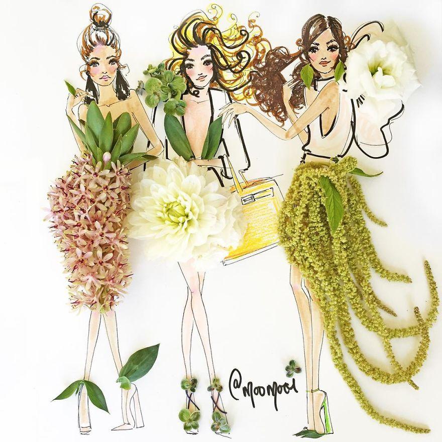 moomooi-someflowergirls-fashion-illustration-with-flowers-veggies-everyday-stuff-5892ebdd69093__880