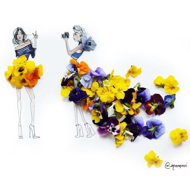 moomooi-someflowergirls-fashion-illustration-with-flowers-veggies-everyday-stuff-5892ebe9300b9__880