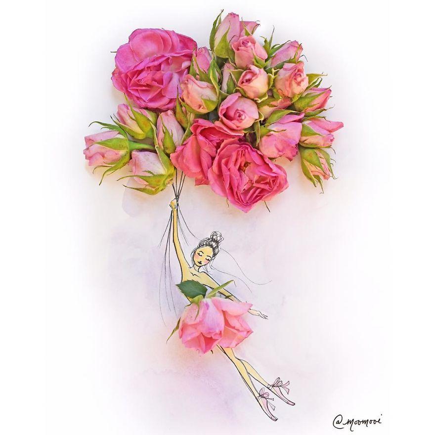moomooi-someflowergirls-fashion-illustration-with-flowers-veggies-everyday-stuff-5892ebf72ff53__880