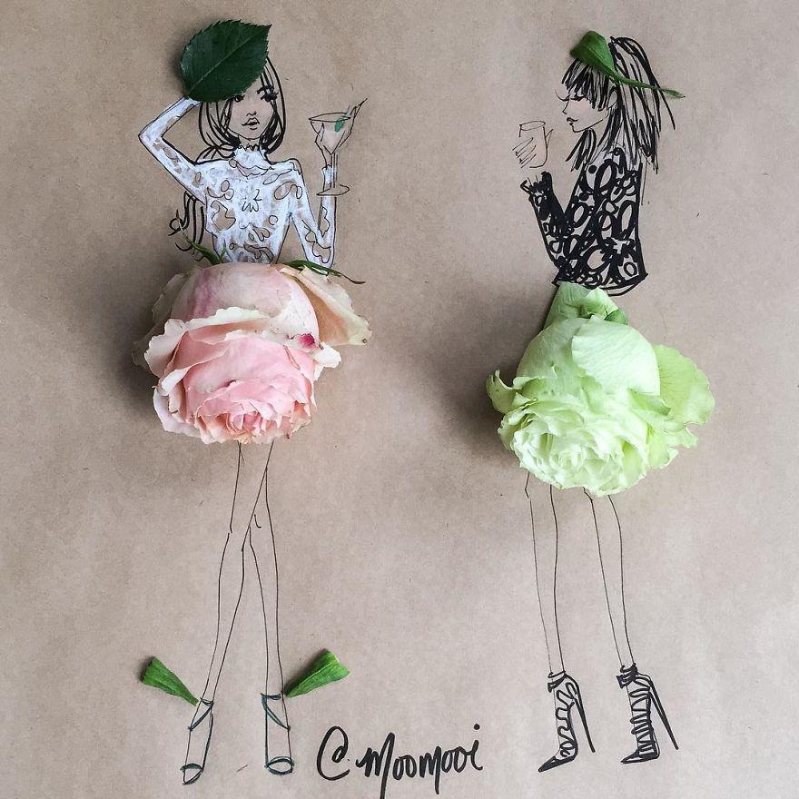 moomooi-someflowergirls-fashion-illustration-with-flowers-veggies-everyday-stuff-5892ebfd5bf40__880