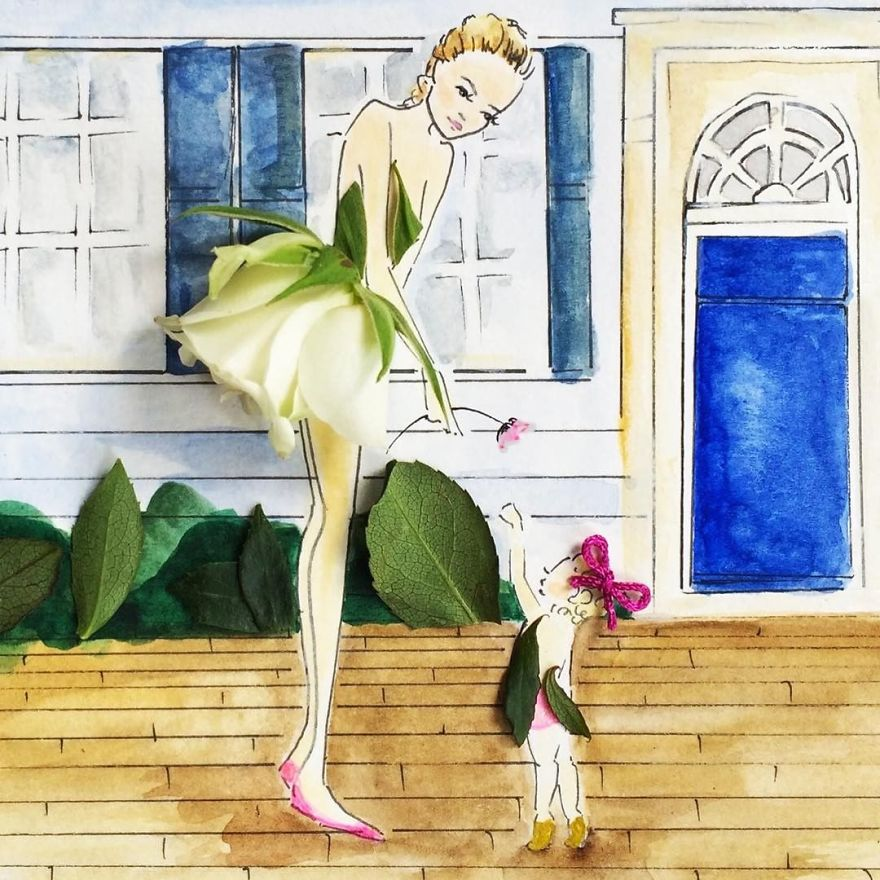 moomooi-someflowergirls-fashion-illustration-with-flowers-veggies-everyday-stuff-5892ec207d4f2__880