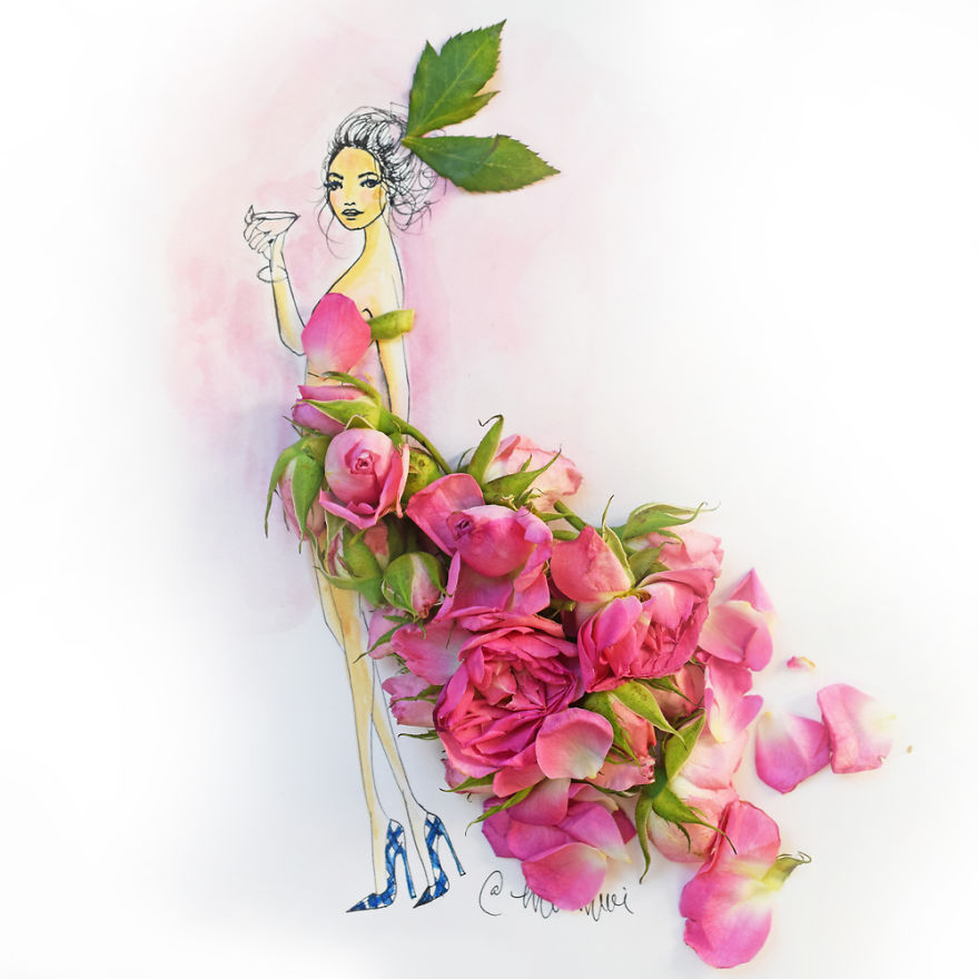 moomooi-someflowergirls-fashion-illustration-with-flowers-veggies-everyday-stuff-5892ecef113b9__880
