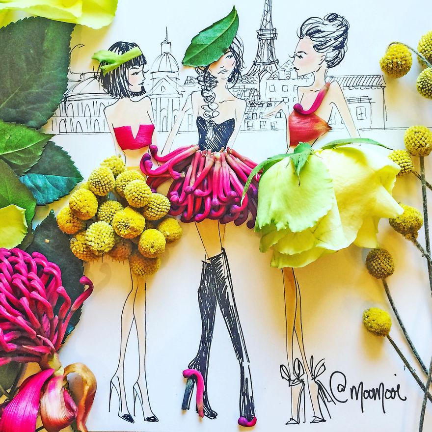 moomooi-someflowergirls-fashion-illustration-with-flowers-veggies-everyday-stuff-5892ecfbd6124__880