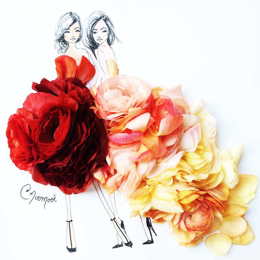 moomooi-someflowergirls-fashion-illustration-with-flowers-veggies-everyday-stuff-5892ed150d444__880