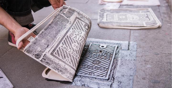 raubdruckerin_street_printing_gymbag_barcelona_graciajpg