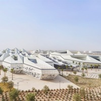 zaha hadid completes petroleum research centre in Riyadh