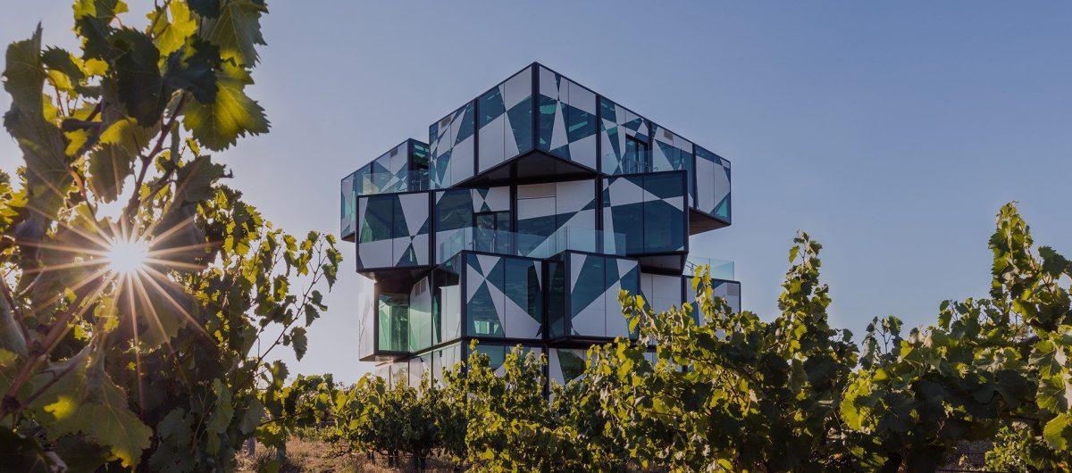 ADS architects complete  d'Arenberg Cube winery
