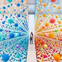 Nike savvas embellishes the gallery Of Australia with  polystyrene