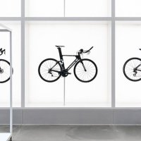 Danish creative  Johannes hangs cycles in a retail space to foster inspiration