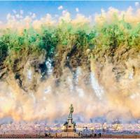 City of Flowers! Cai Guo-Qiang creates  daytime explosion for the city of Florence