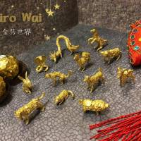 Wu chu amazing sculptures from upcycled gold foils